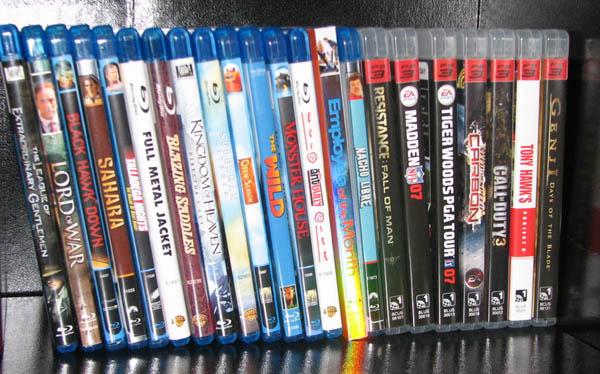 Blu-ray filme si jocuri